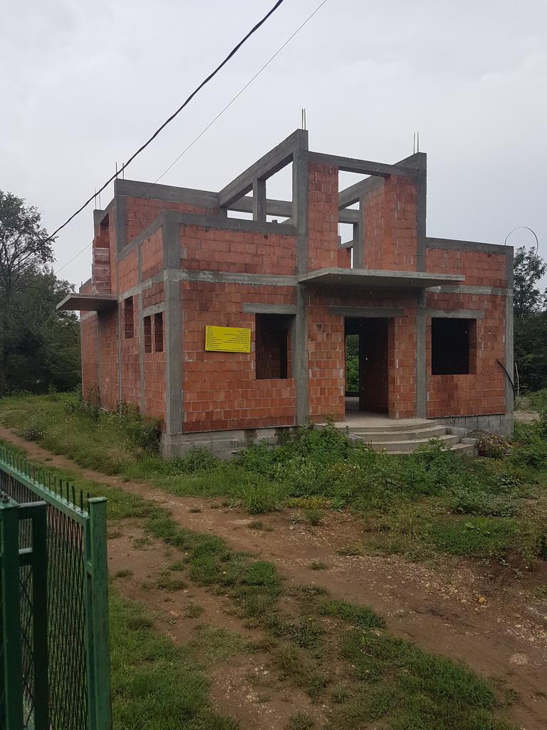 Izgradnja Lovačke kuće jul 2018. godine