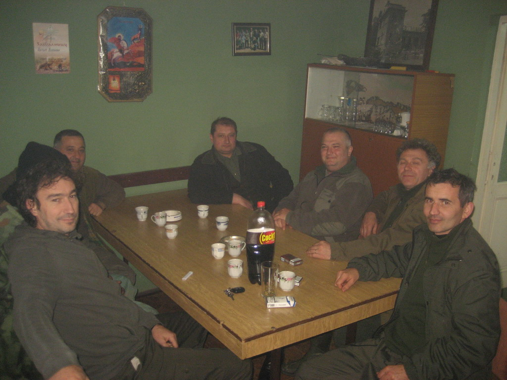 Predah nakon lova 07.12.2013. - Kragujevac