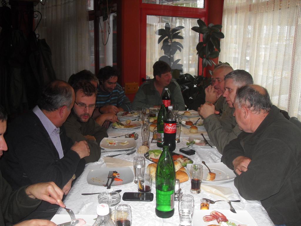 Pobratimi u poseti Paraćinu 29.11.2014.